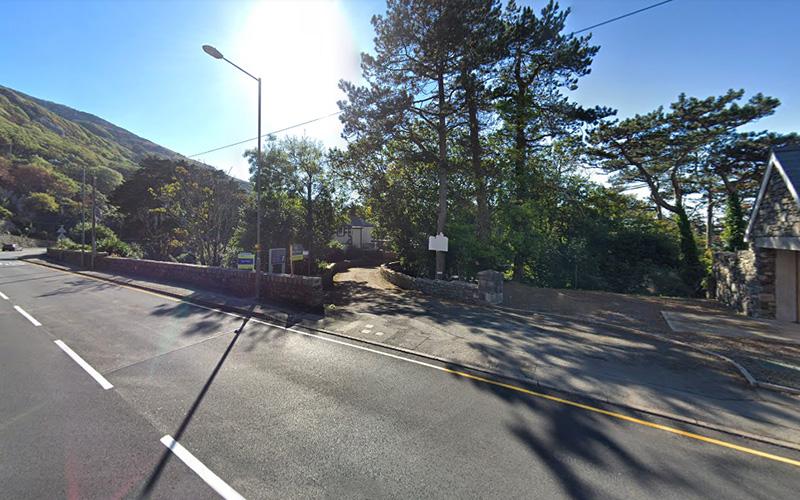 Twr Mynach Llanaber Road Entrance